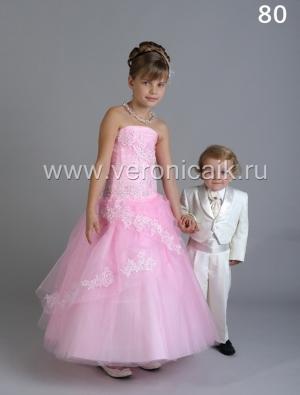 """Бальное платье """"Азалия"""" с шитьем и пышной юбкой.Шикарное бальное платье идеально для бала, а также для любых торжеств! Само платье корсетного типа, идеально для девочек разного возраста."""