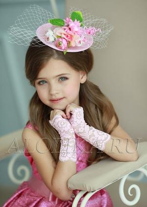 """Кружевные митенки """"Незнакомка"""".Очаровательные кружевные перчатки к нарядным и бальным платьям. Перчатки для девочек."""